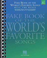 hal leonard fake book of the world s favorite songs c instruments